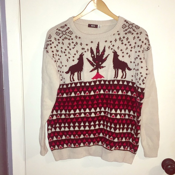 Urban Outfitters Ugly Christmas Sweater.Bdg Urban Outfitters Ugly Christmas Sweater S